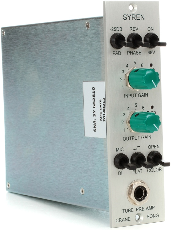 SYREN_500 Series Tube Pre Amp