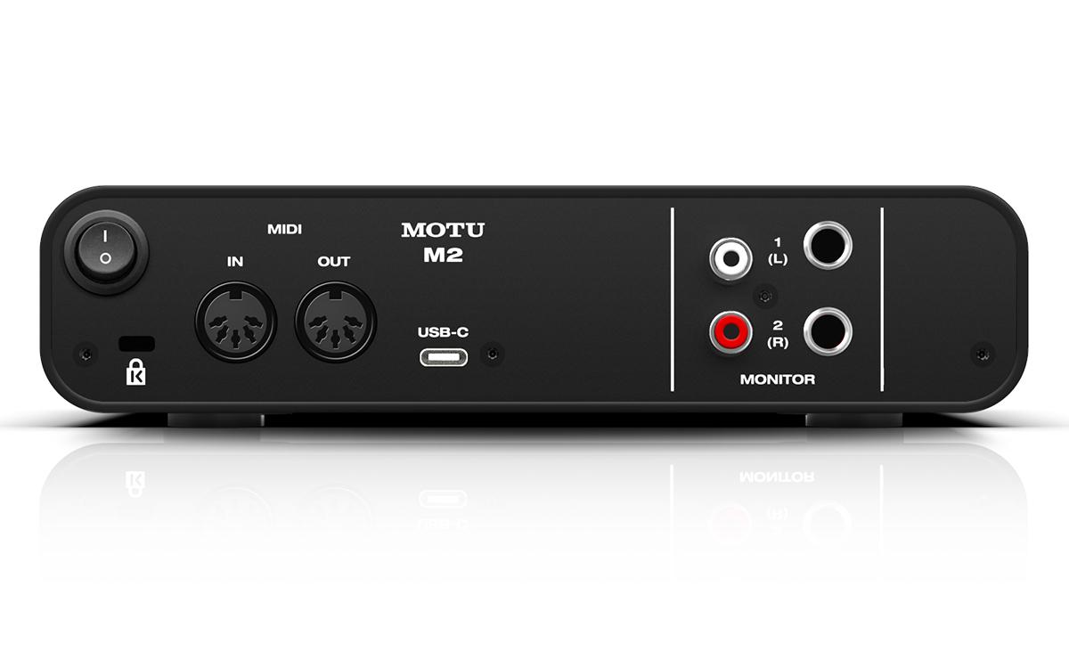 MOTU-M2-怡同科技