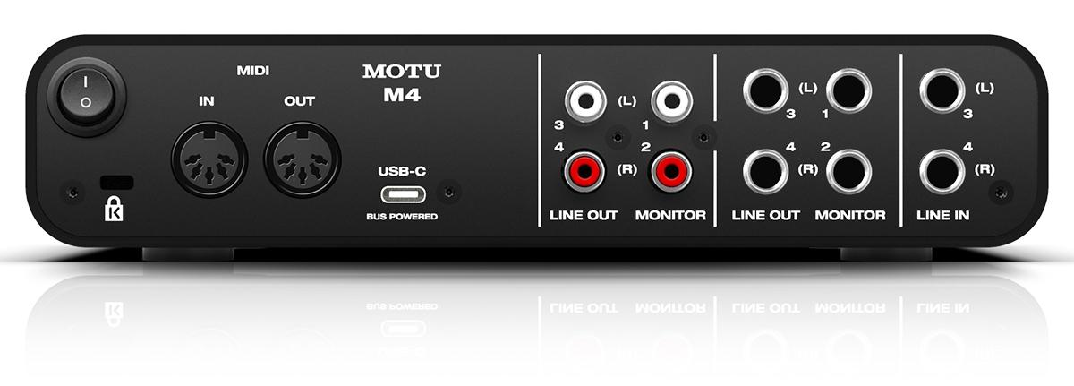 MOTU-M4-怡同科技